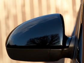 schwarze Spiegelkappen