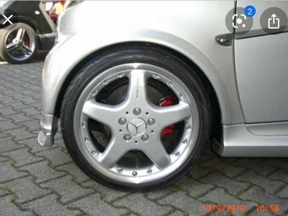 AMG Räder 7,5x17 + 8,5x17 mehrteilig